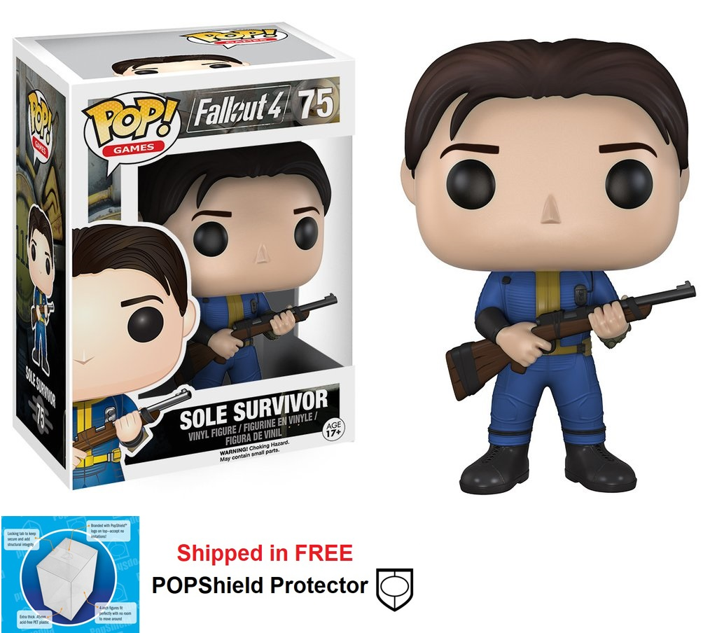 Funko POP Games Fallout Sole Survivor Figure - #75