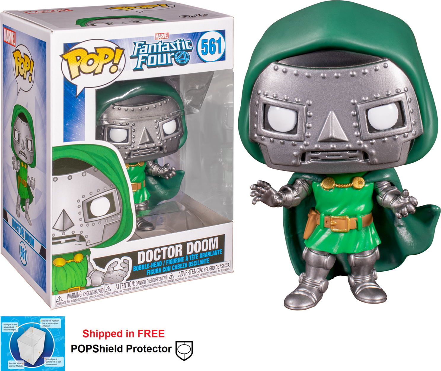 Funko POP Marvel Fantastic Four Doctor Doom - #561