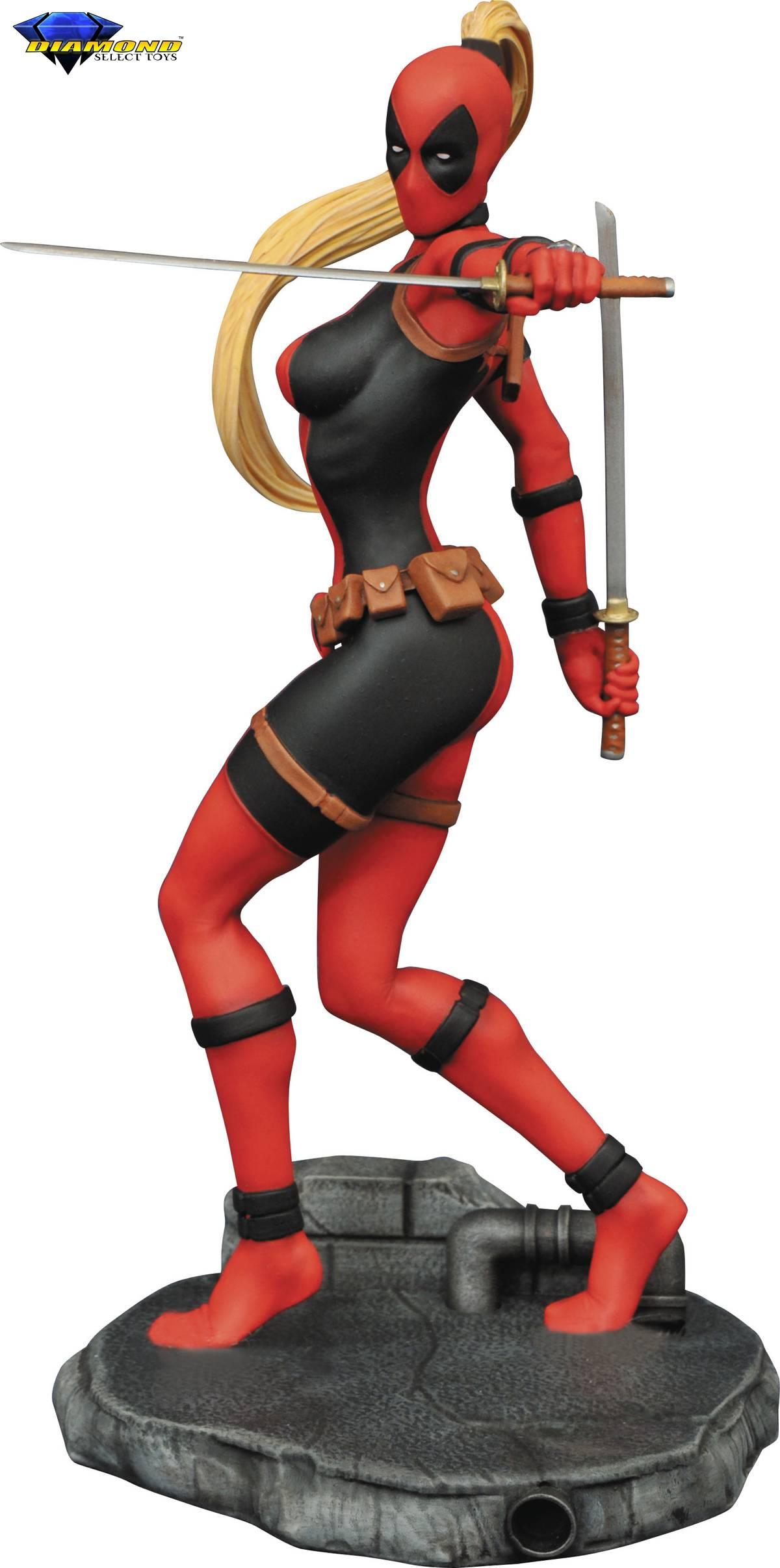 Diamond Marvel Femme Fatales Lady Deadpool Statue