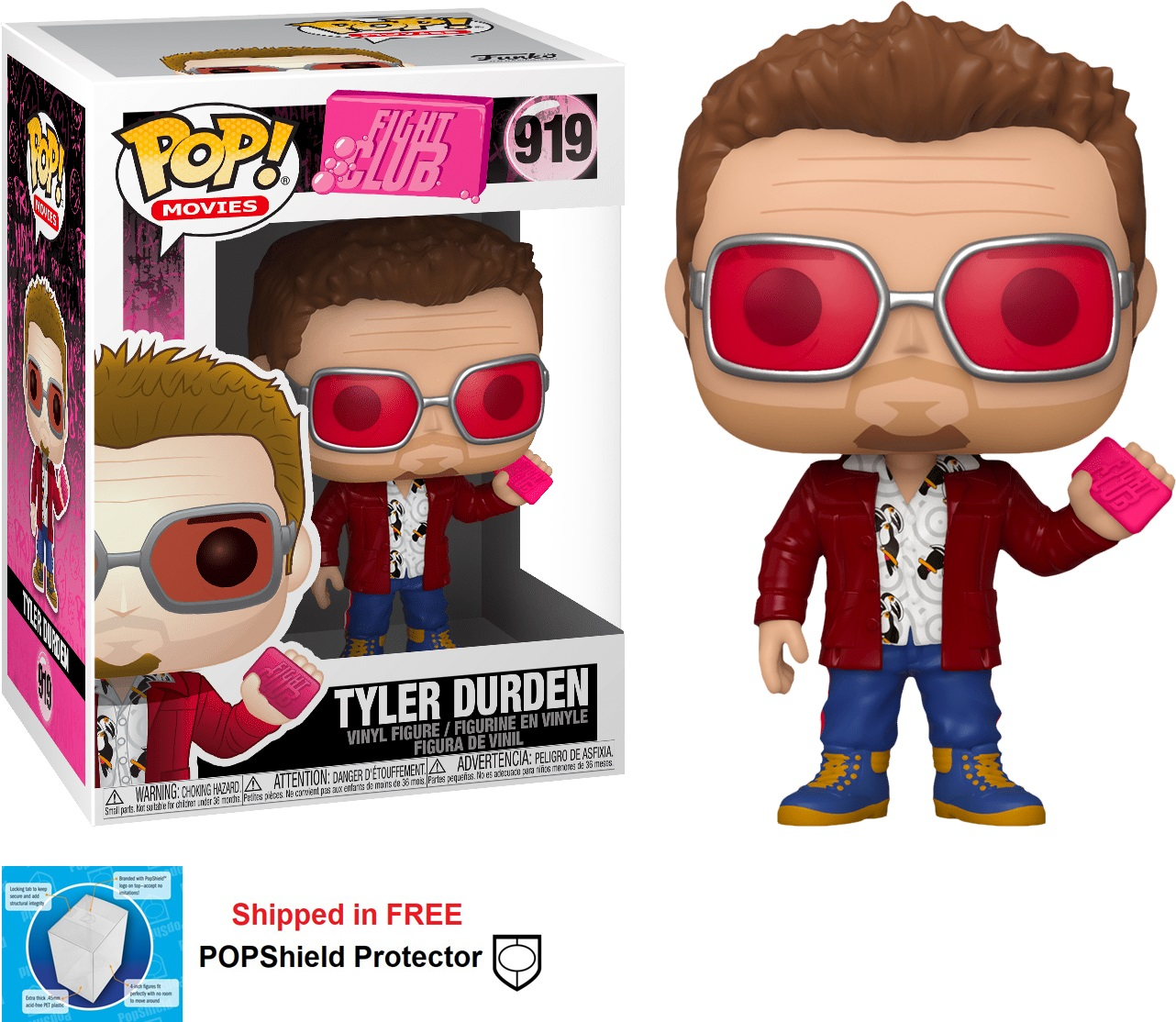 Funko POP Movies Fight Club Tyler Durden - #919
