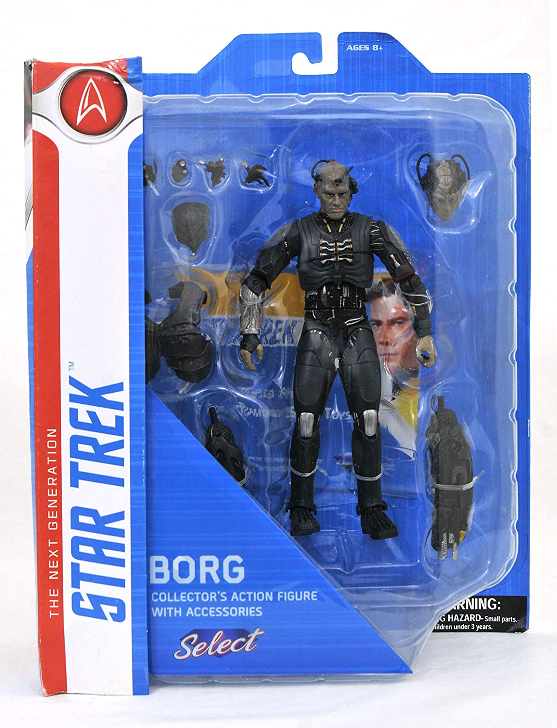 Diamond Star Trek Borg Figure