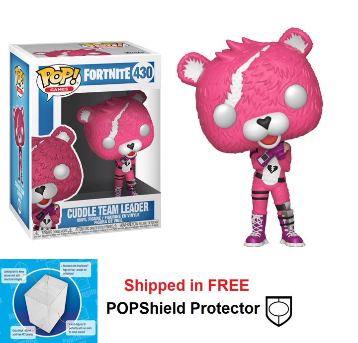 Funko POP Games Fortnite Cuddle Team Leader Figure - #430