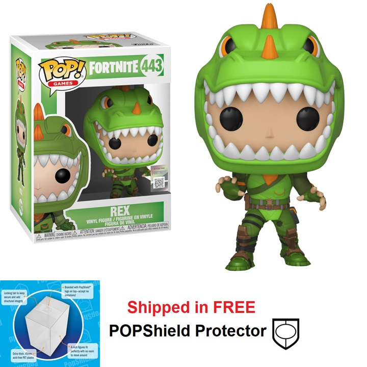 Funko POP Games Fortnite Rex Figure - #443