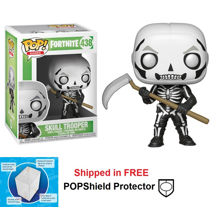 Funko POP Games Fortnite Skull Trooper Figure - #438