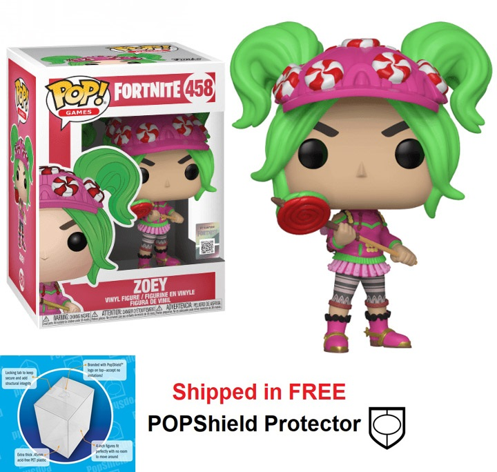 Funko POP Games Fortnite Zoey Figure - #458