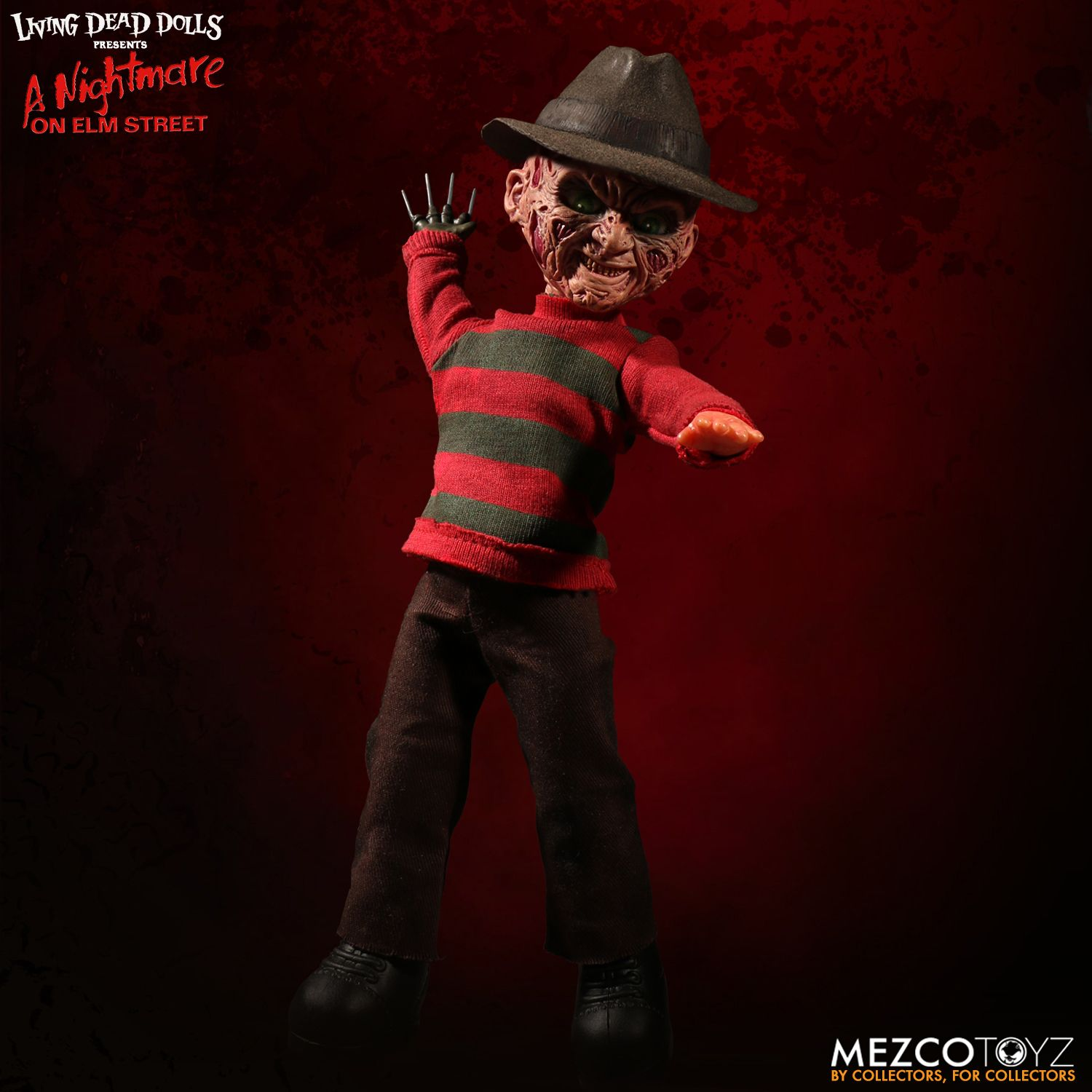 Mezco Freddy Krueger Talking Living Dead Doll