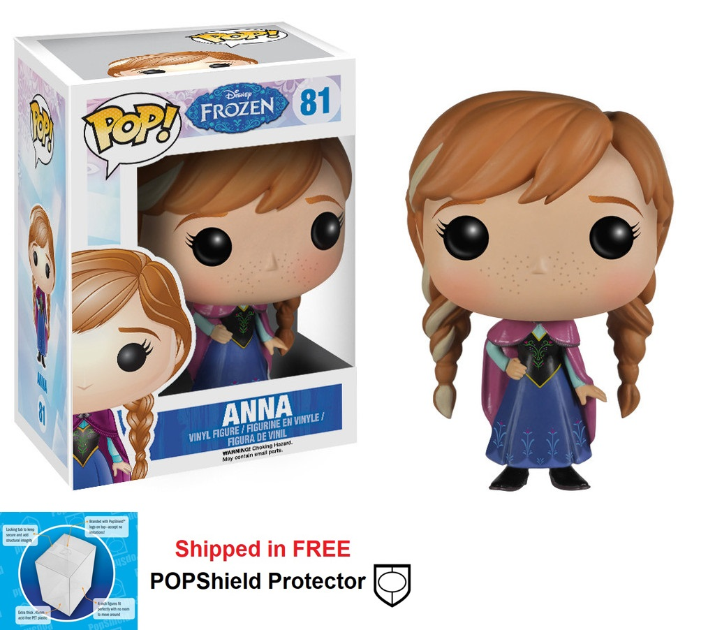 Funko POP Disney Frozen Anna Figure - #81