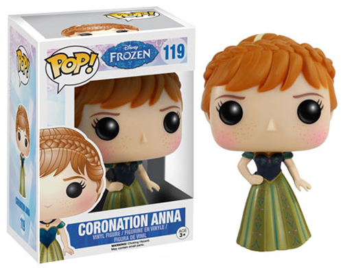 Funko POP Disney Frozen Anna Coronation Figure - #119