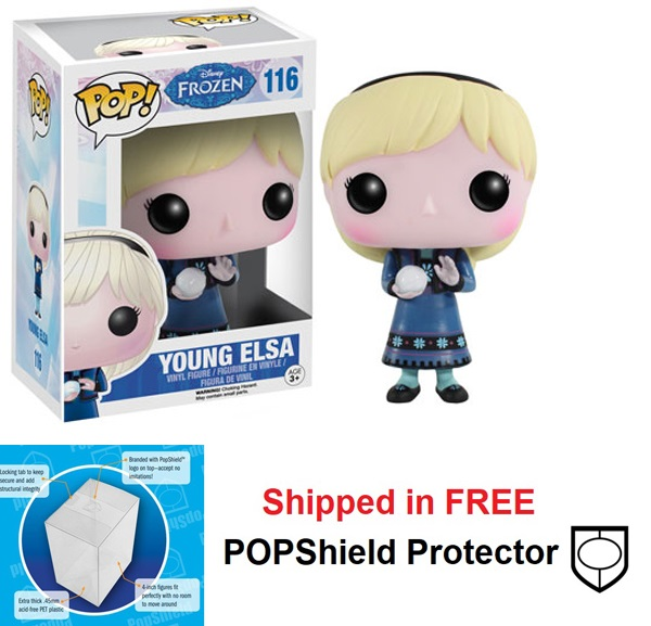 Funko POP Disney Frozen Elsa Young Figure - #116
