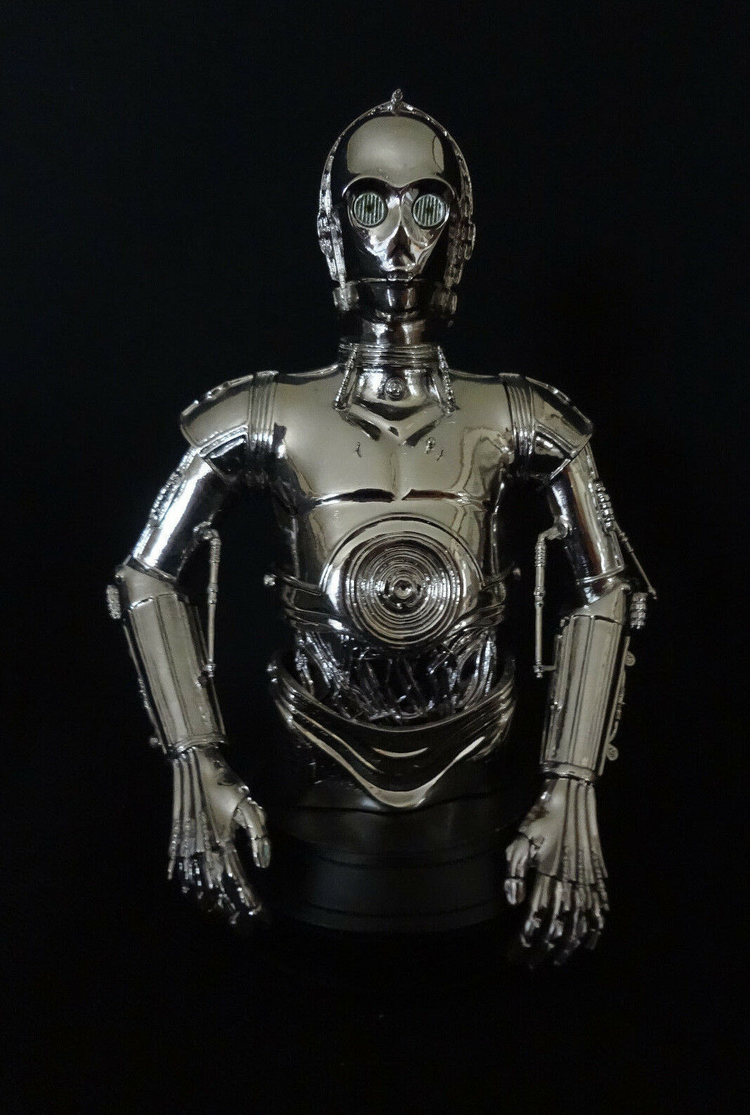 Gentle Giant Star Wars C-3PO Chrome MBNA Mini-Bust