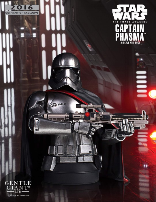 Gentle Giant Star Wars Captain Phasma Mini-Bust