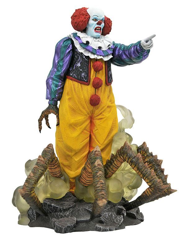 Diamond Gallery It Pennywise 1990 Statue