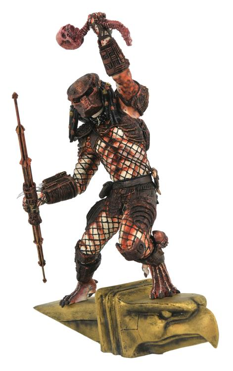 Pre-Order Diamond Gallery Predator 2 City Hunter Statue