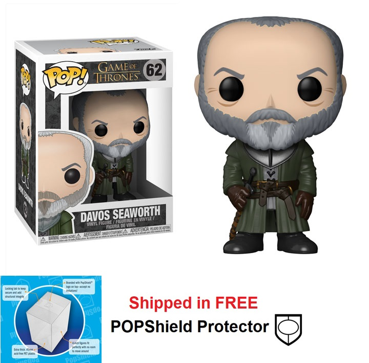 Funko POP Game of Thrones Davos Seaworth Figure - #62