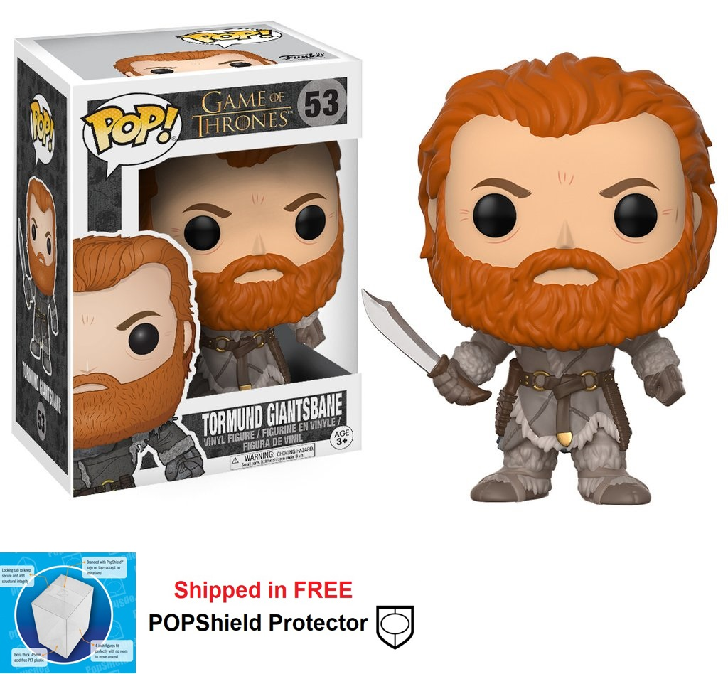 Funko POP Game of Thrones Tormund Giantsbane Figure - #53