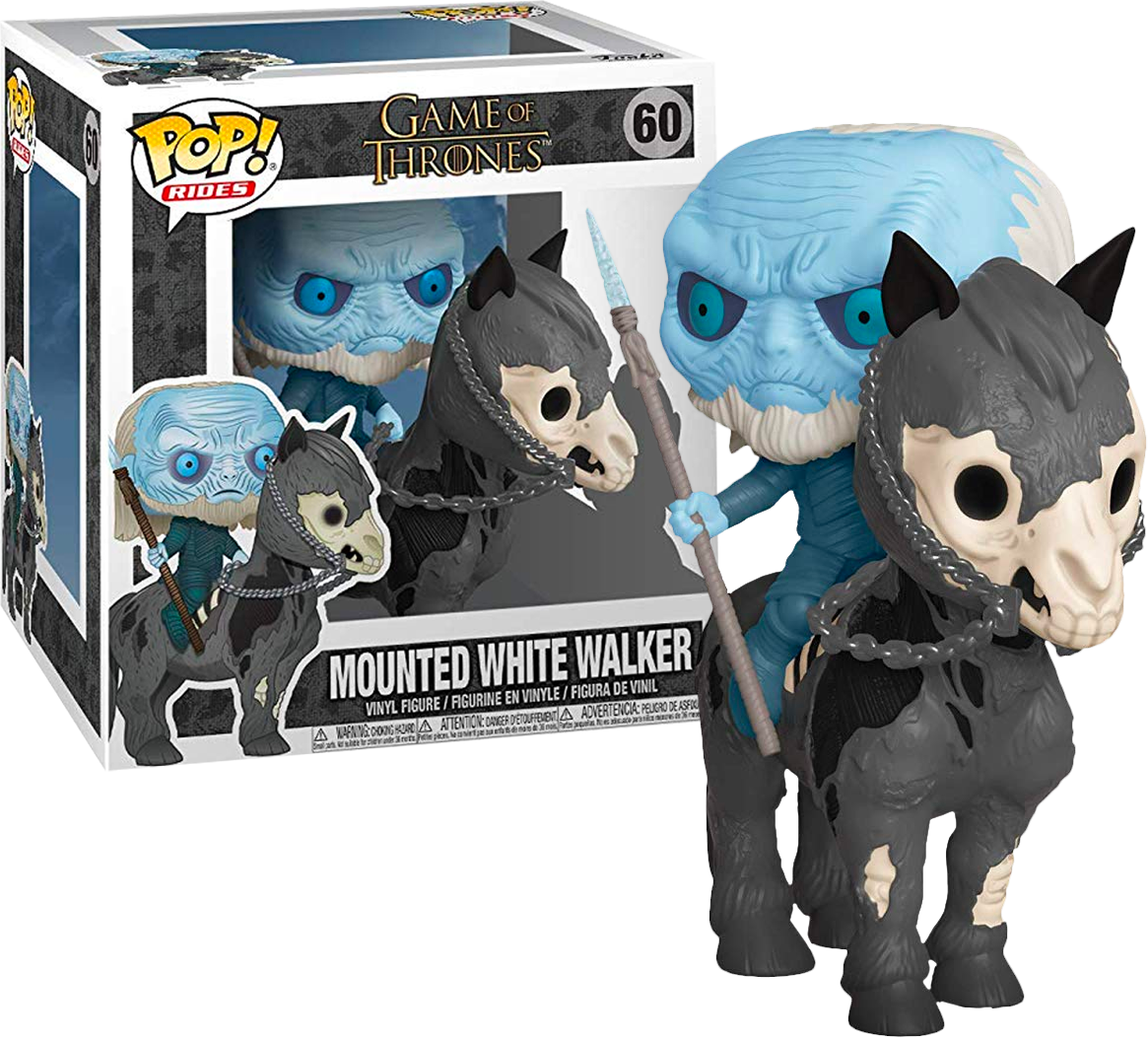 Funko POP Game of Thrones Mounted White Walker - #60