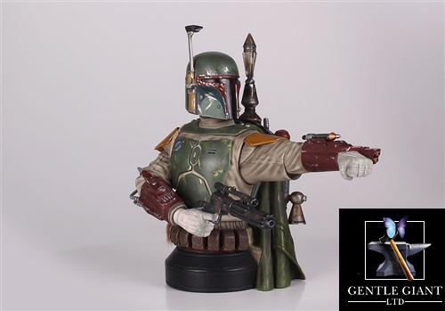 Gentle Giant Star Wars Boba Fett Deluxe Mini-Bust