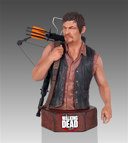 Gentle Giant Walking Dead Daryl Dixon Mini-Bust