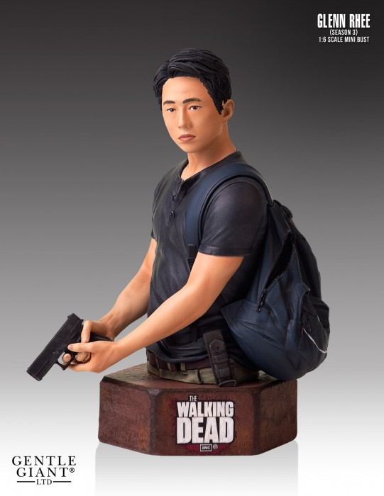 Gentle Giant Walking Dead Glenn Rhee Mini-Bust