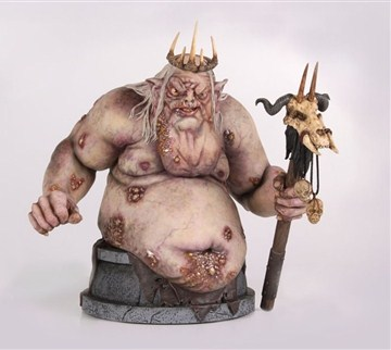 Gentle Giant The Hobbit Goblin King Mini-Bust