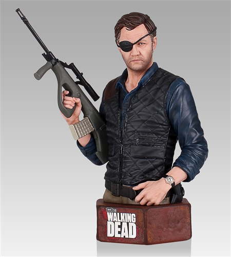 Gentle Giant Walking Dead Governor Mini-Bust - Exclusive Edition