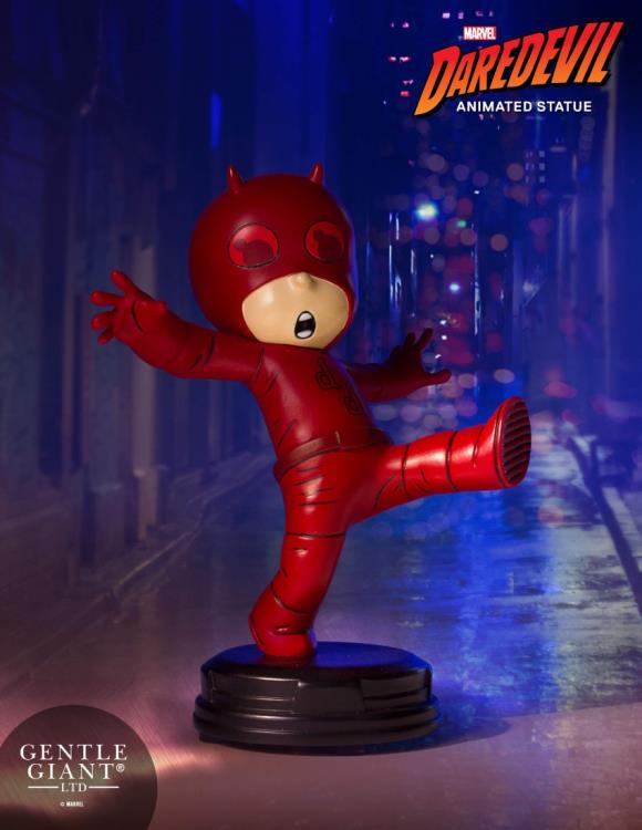 Gentle Giant Marvel Daredevil Animated Style Statue