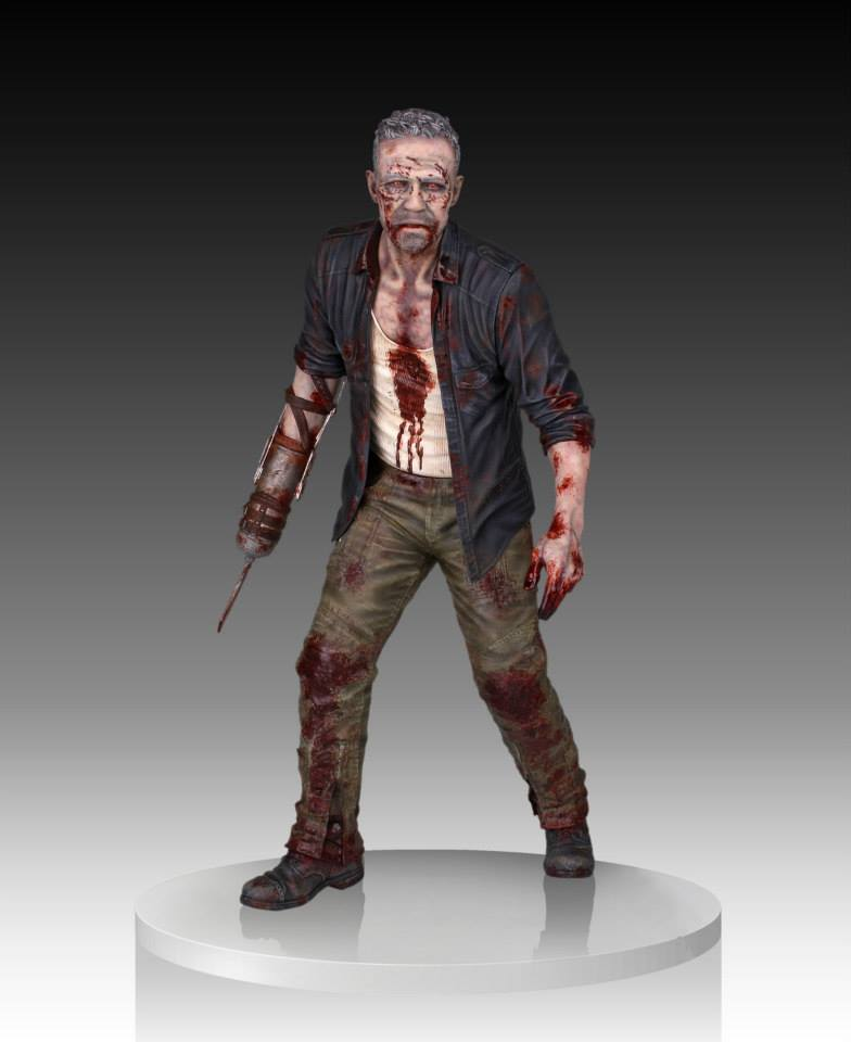 Gentle Giant Walking Dead Merle Dixon Zombie Walker Statue