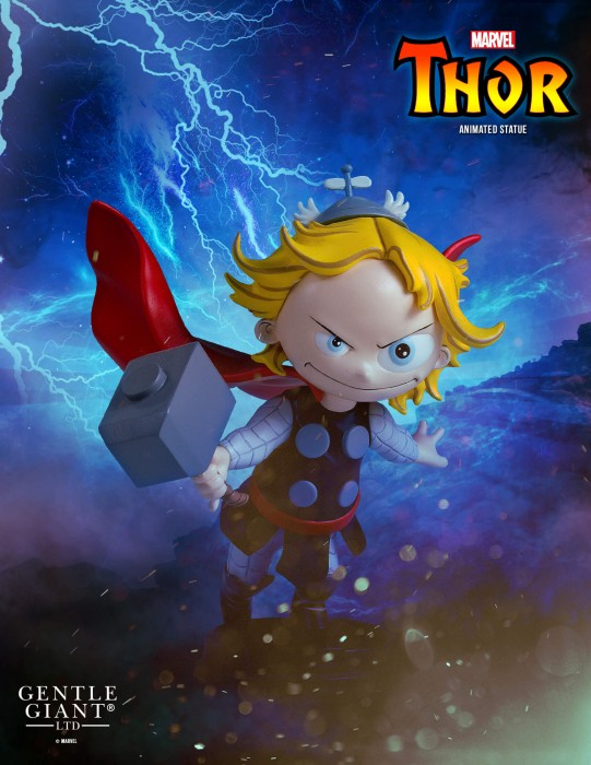 Gentle Giant Marvel Thor Animated Style Statue