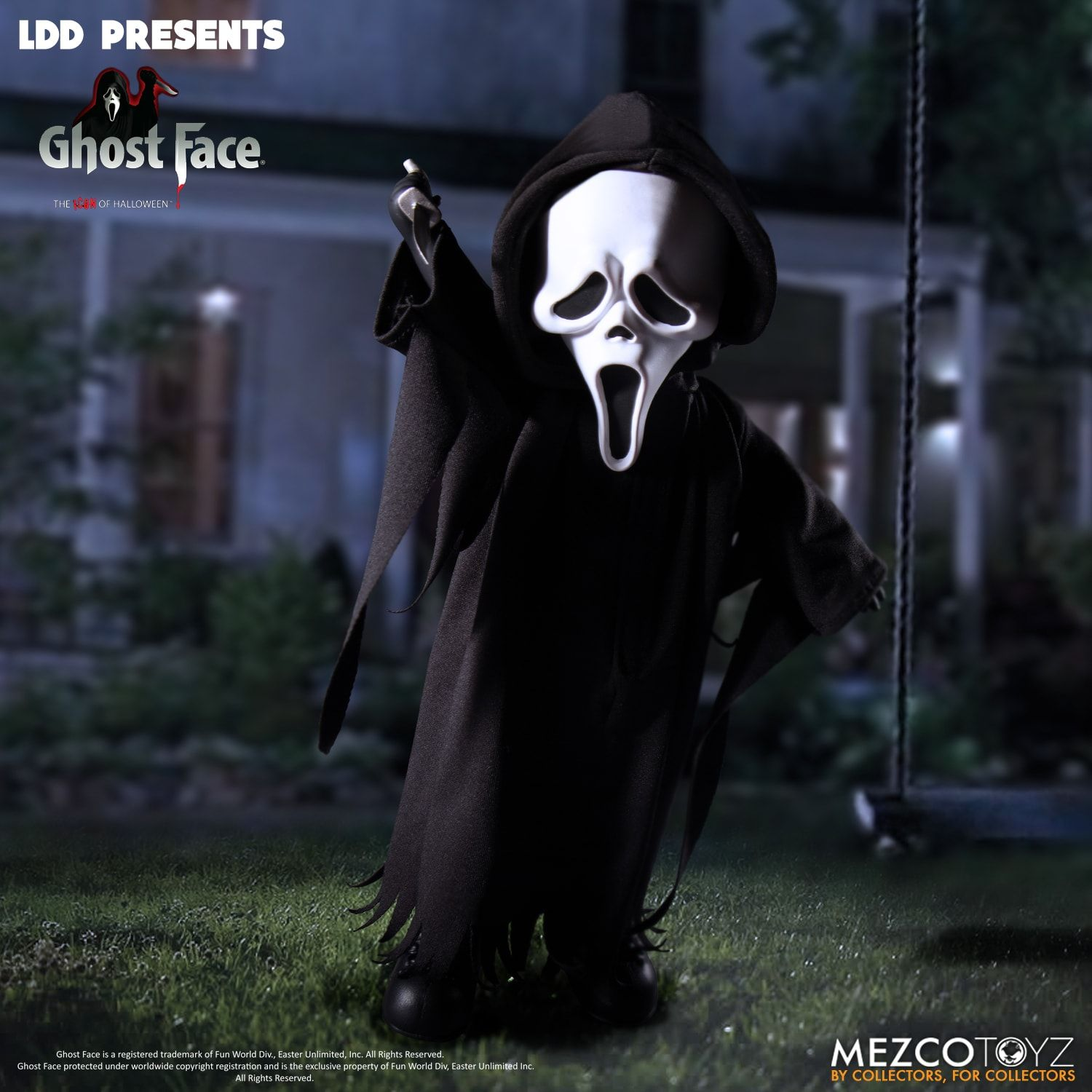 Pre-Order Mezco Living Dead Dolls Ghost Face