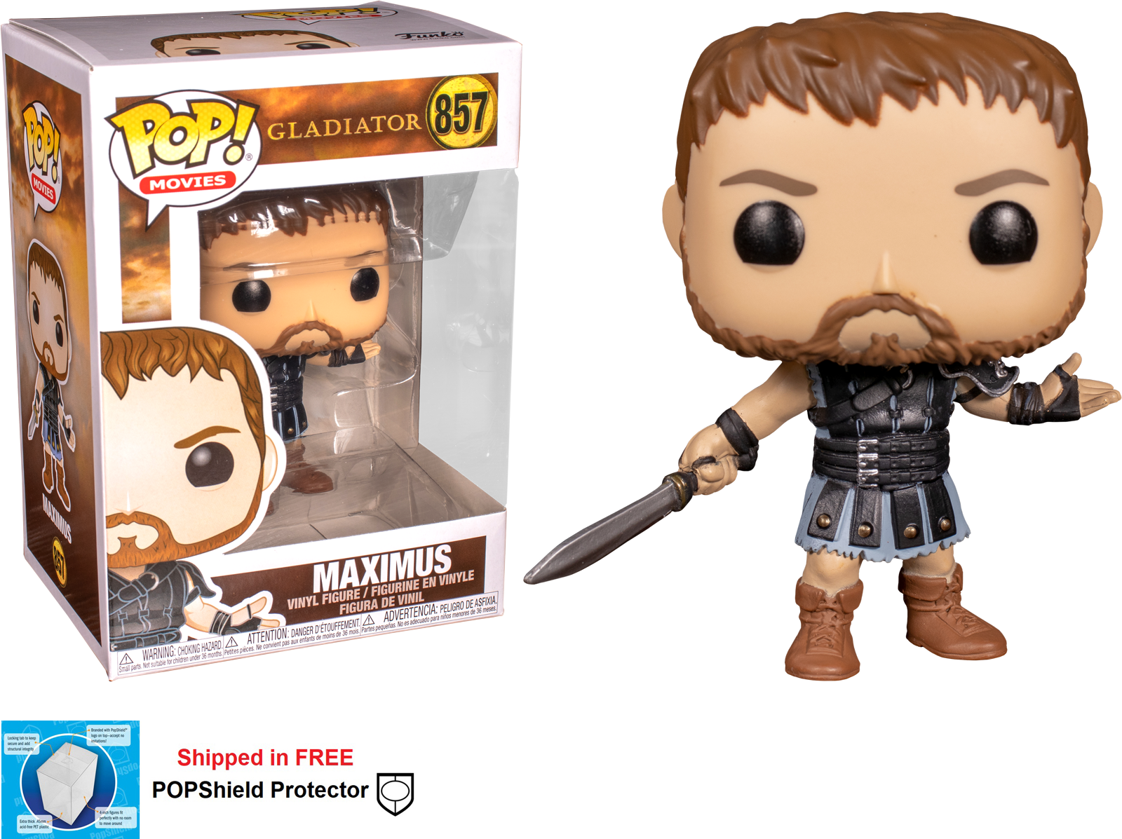 Funko POP Movies Gladiator Maximus - #857
