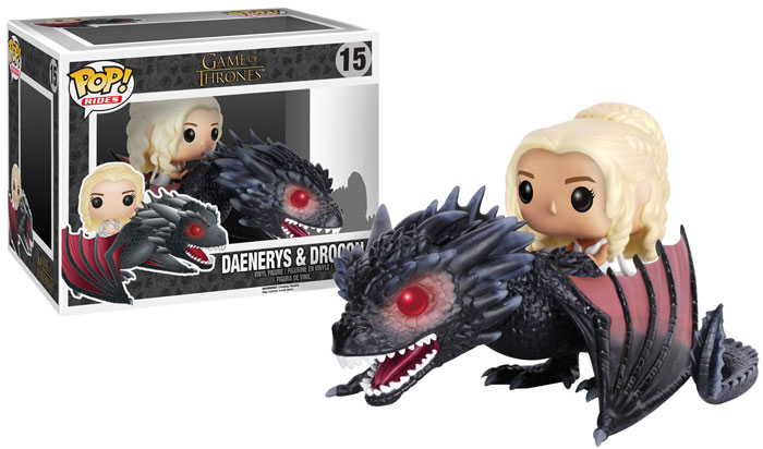 Funko POP Game of Thrones Daenerys & Drogon Figure - #15