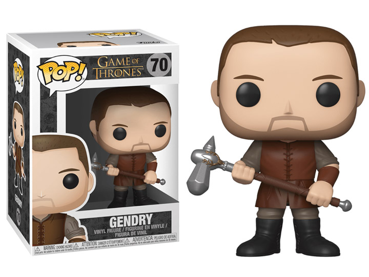 Funko POP TV Game of Thrones Gendry - #70