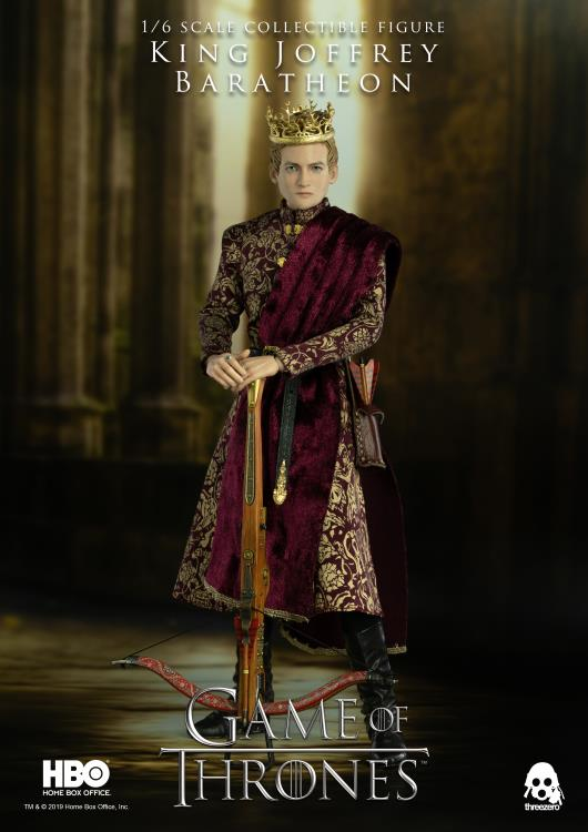 Pre-Order ThreeZero Game of Thrones Joffrey Baratheon DLX Figure