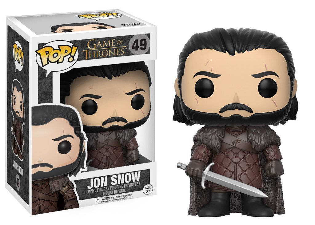 Funko POP TV Game of Thrones Jon Snow Figure - #49