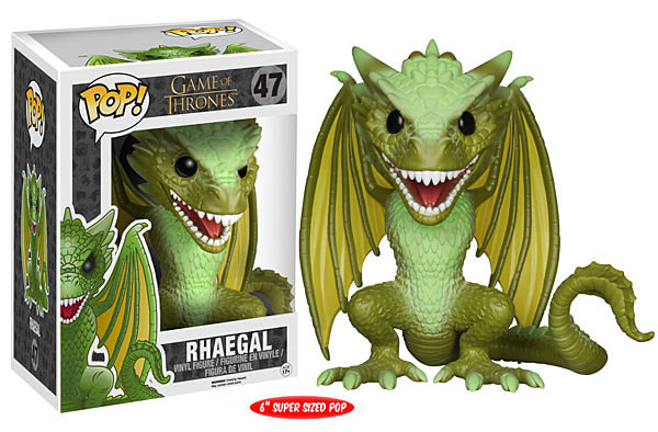 Funko POP TV Game of Thrones Rhaegal Figure - #47