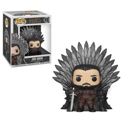 Funko POP TV Game of Thrones Jon Snow on Iron Throne #72