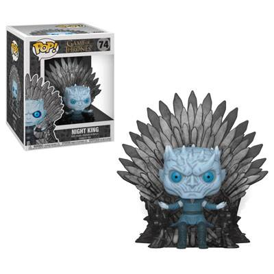Funko POP TV Game of Thrones Night King on Iron Throne #74