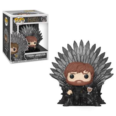 Funko POP TV Game of Thrones Tyrion Lannister on Iron Throne #71