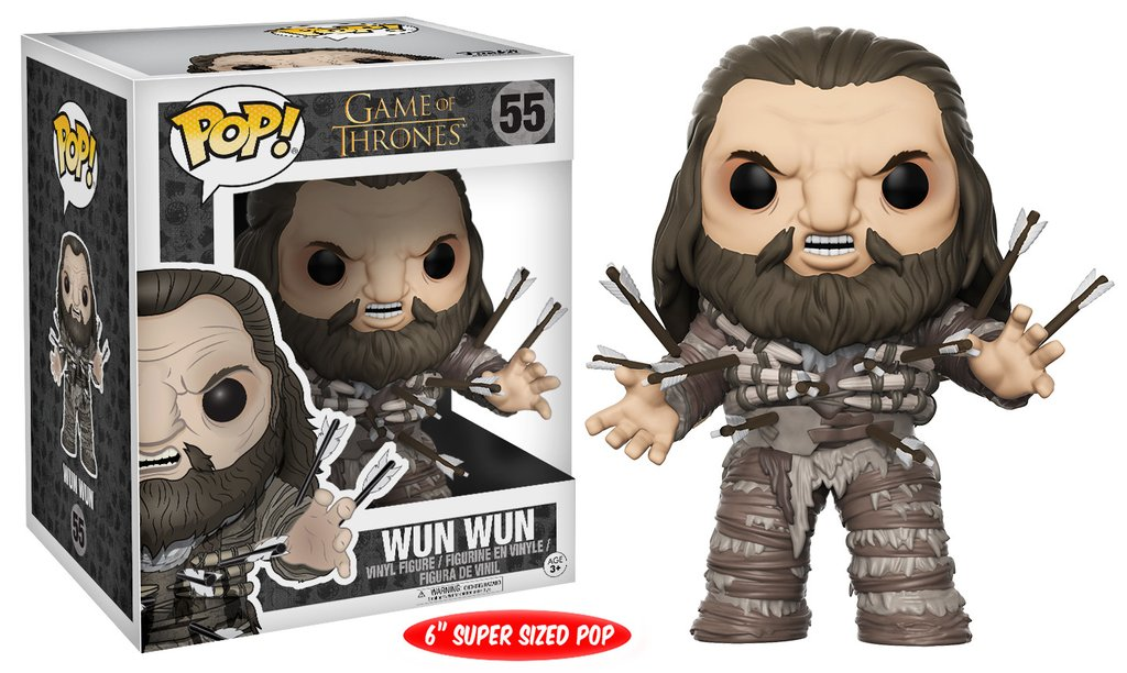 Funko POP TV Game of Thrones Wun Wun Figure - #55