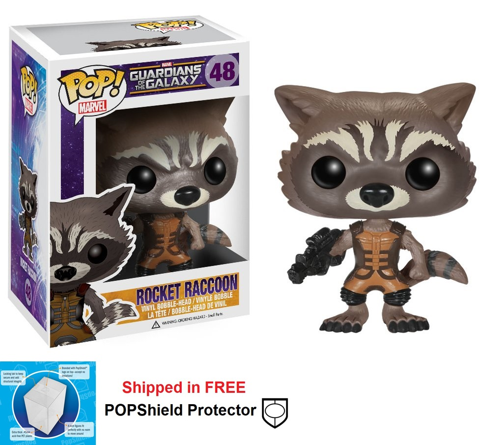 Funko POP Marvel Guardians of the Galaxy Rocket Raccoon - #48