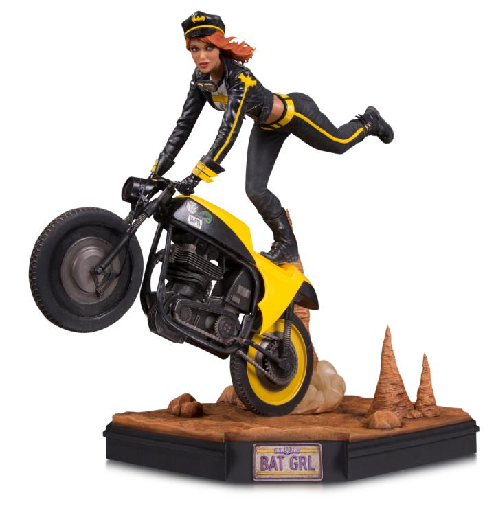 DC Comics Gotham City Garage Batgirl Statue