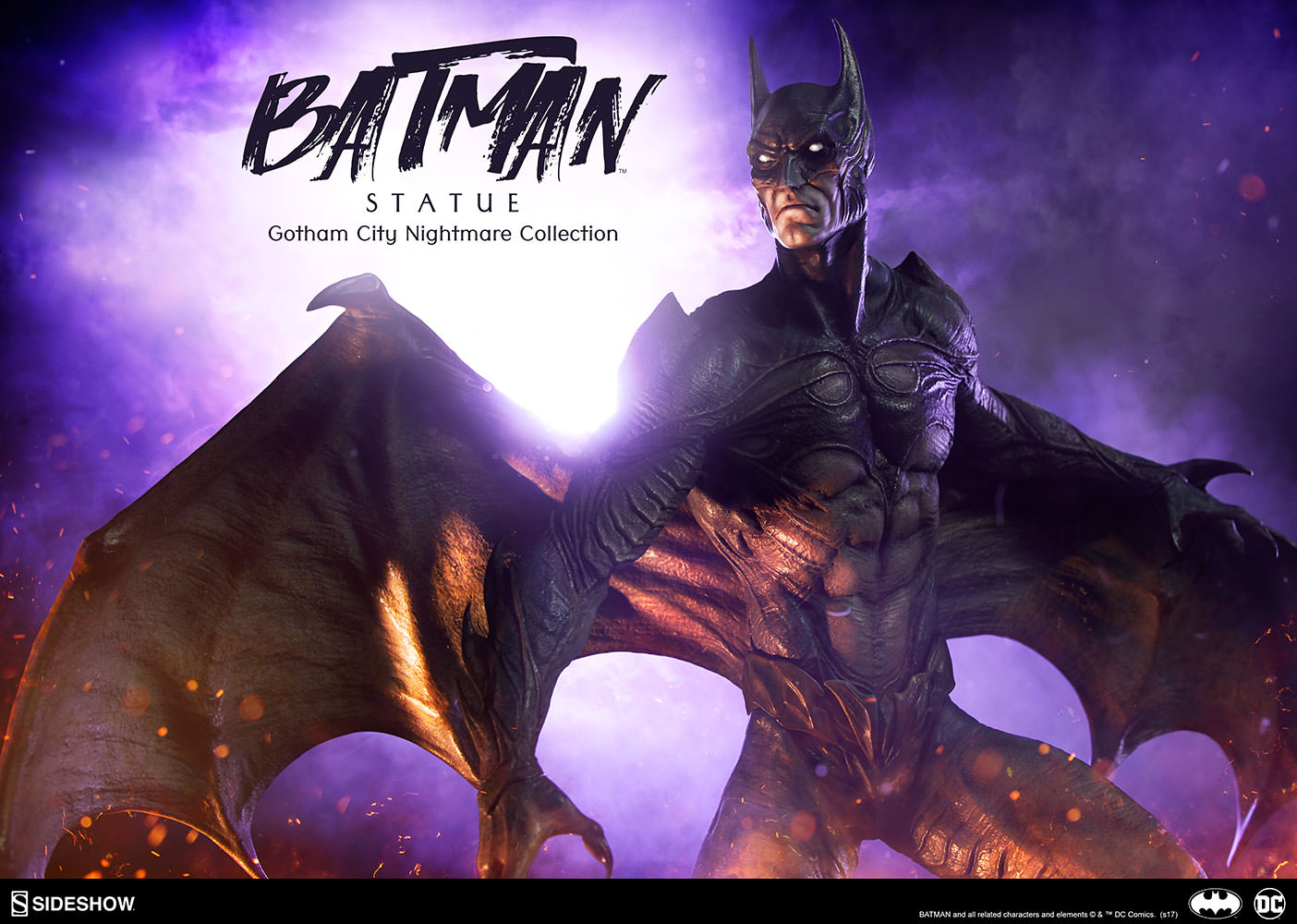 Pre-order Sideshow DC Comics Gotham City Nightmare Batman Statue