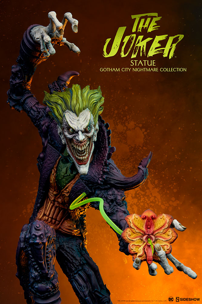 Sideshow DC Comics Gotham City Nightmare Joker Statue