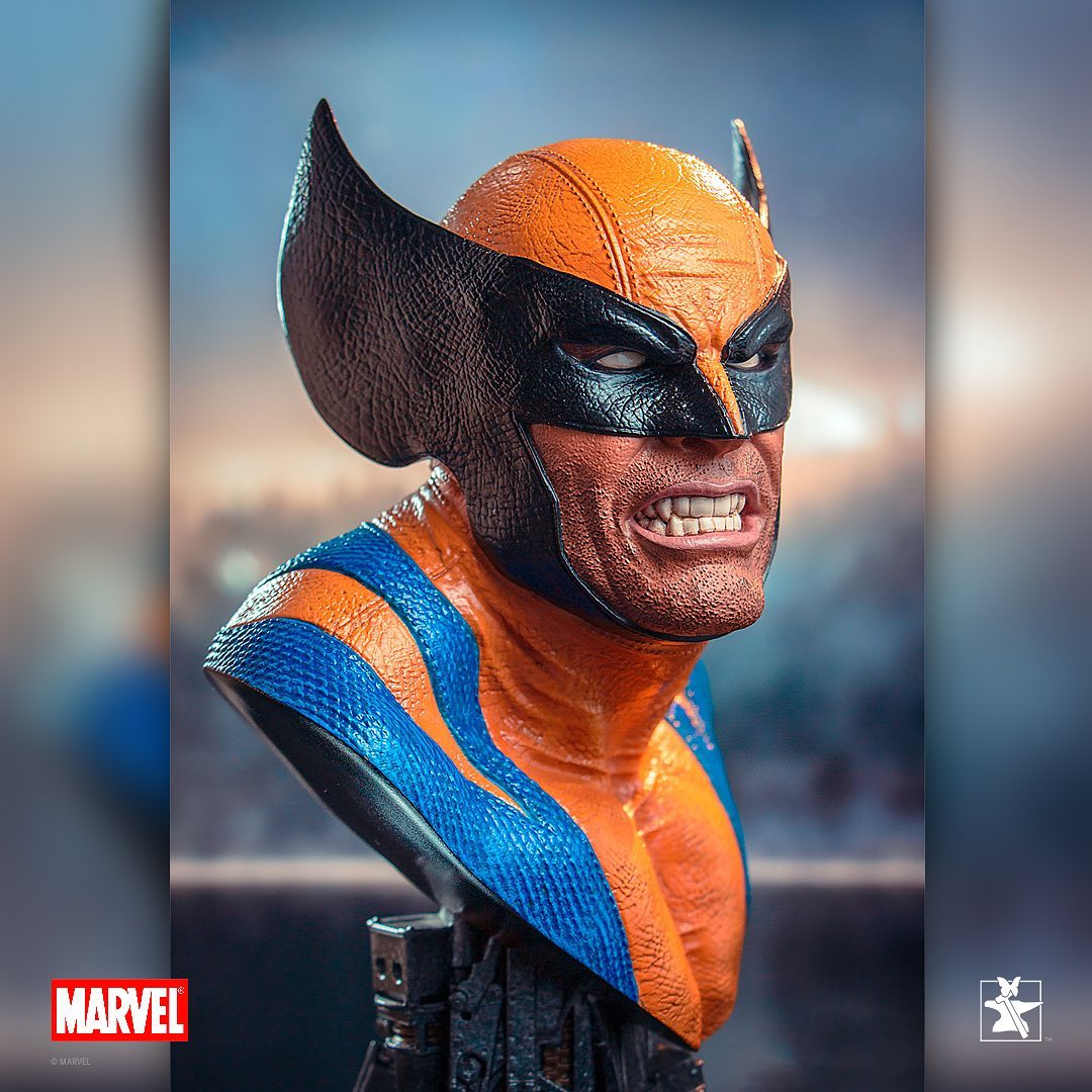 Pre-Order Diamond Legends Marvel Wolverine 1/2 Scale Bust