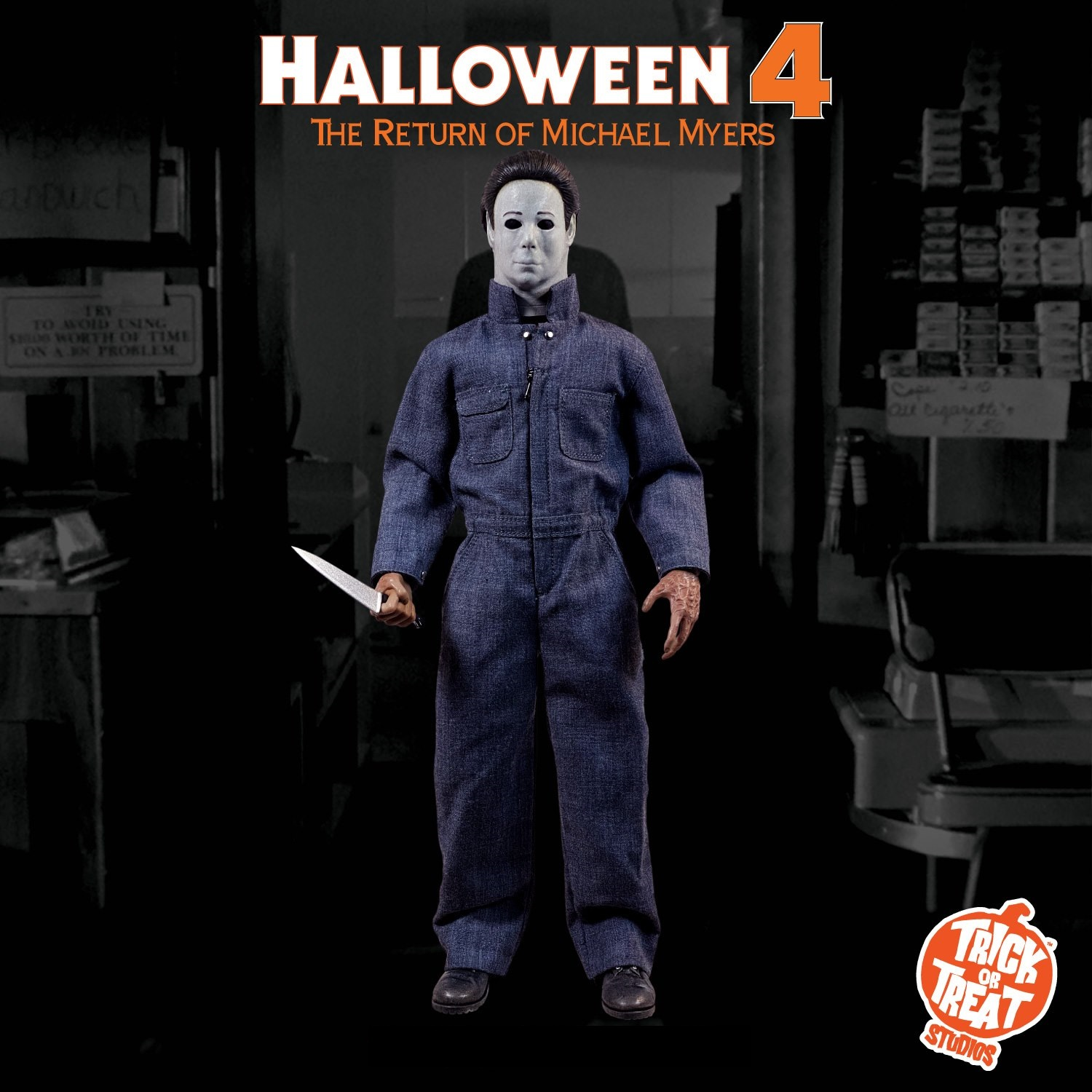 "Trick or Treat Halloween 4 Michael Myers 12"" Figure"