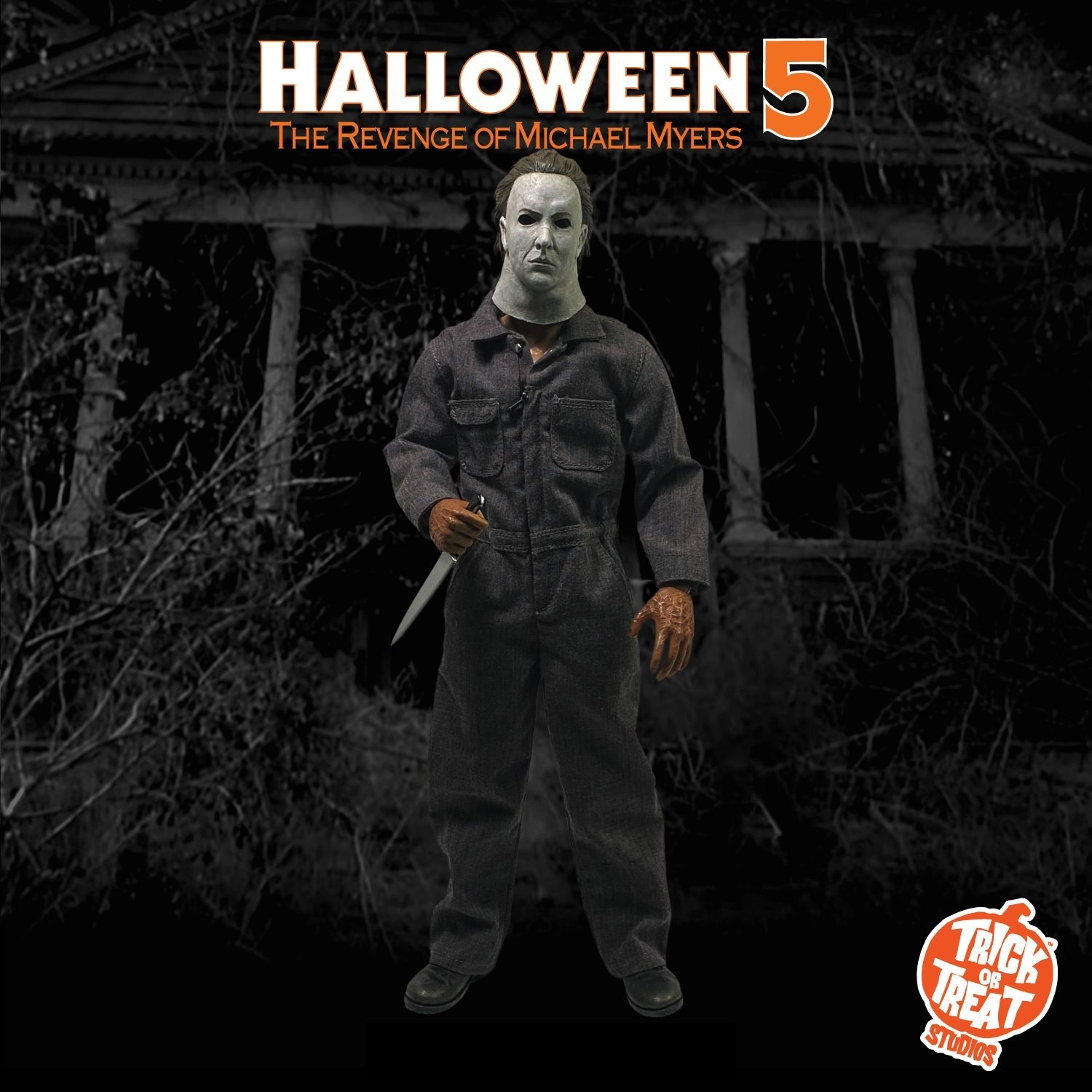 "Trick or Treat Halloween 5 Michael Myers 12"" Figure"