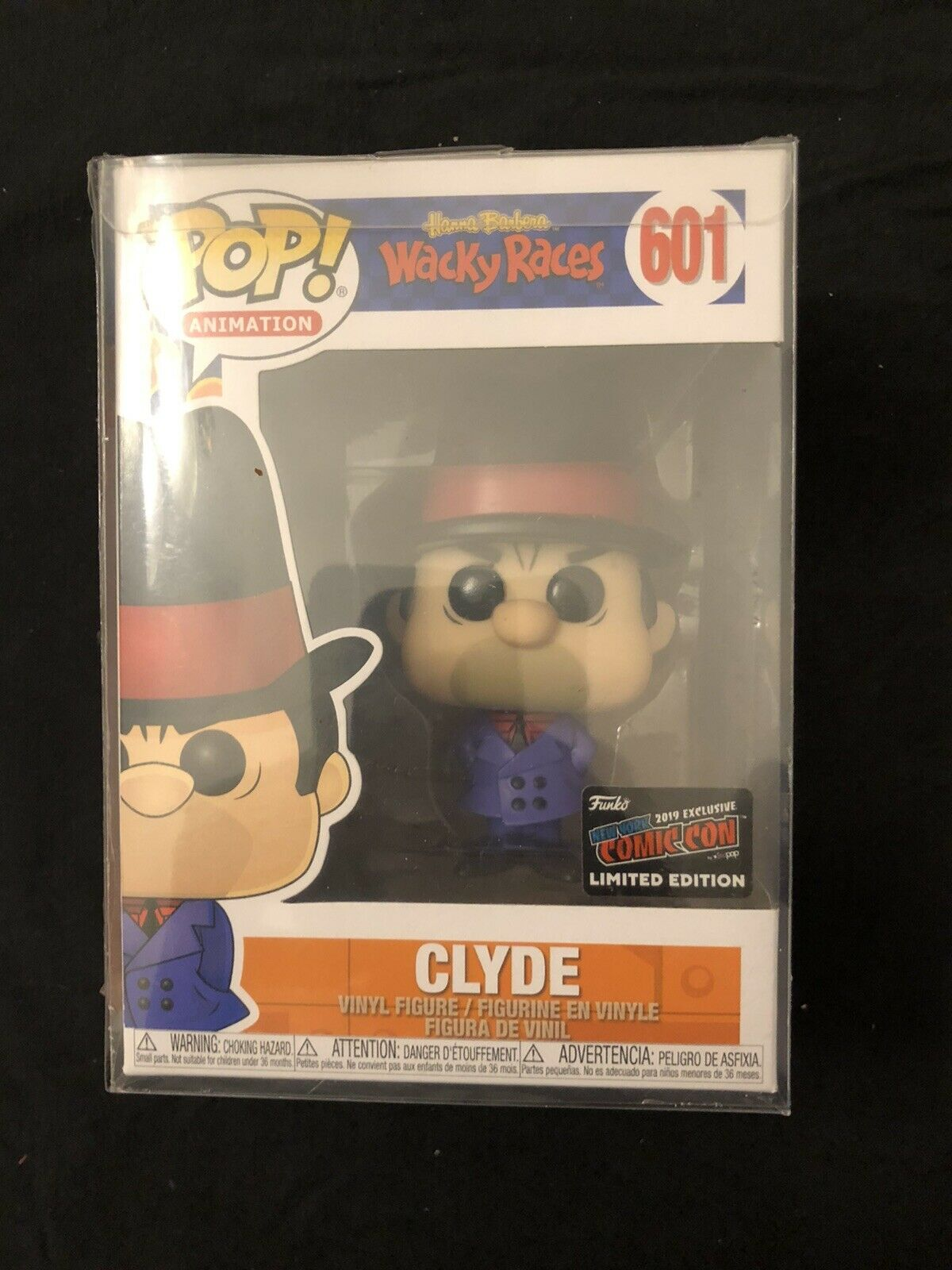 Funko POP Hanna Barbera Clyde - #601 NYCC Exclusive