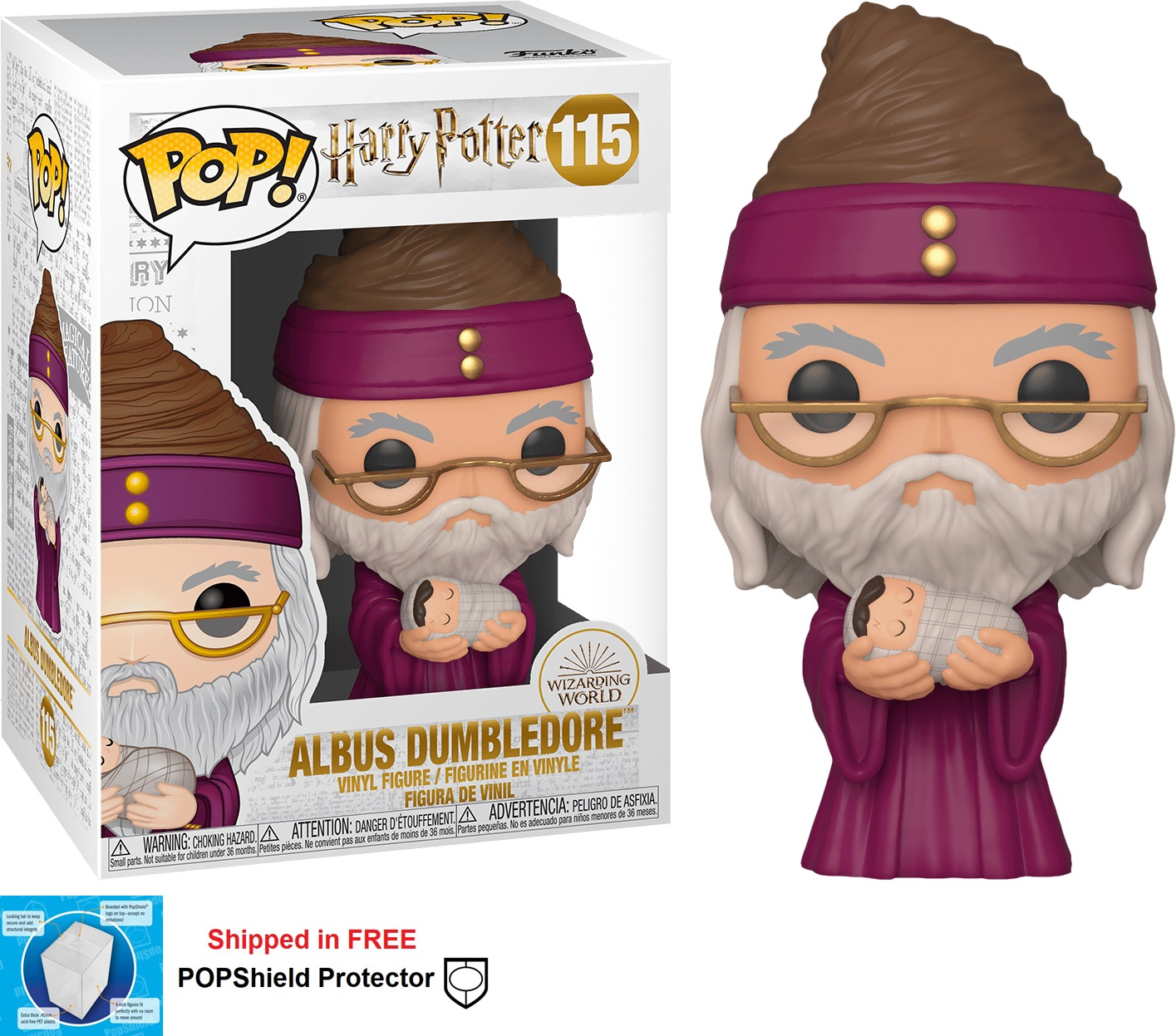 Funko POP Harry Potter Albus Dumbledore - #115