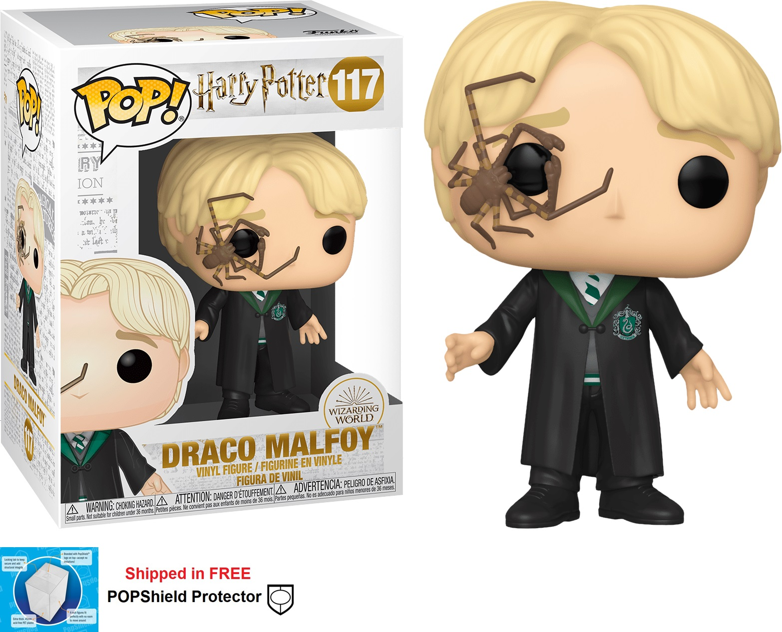 Funko POP Harry Potter Draco Malfoy - #117
