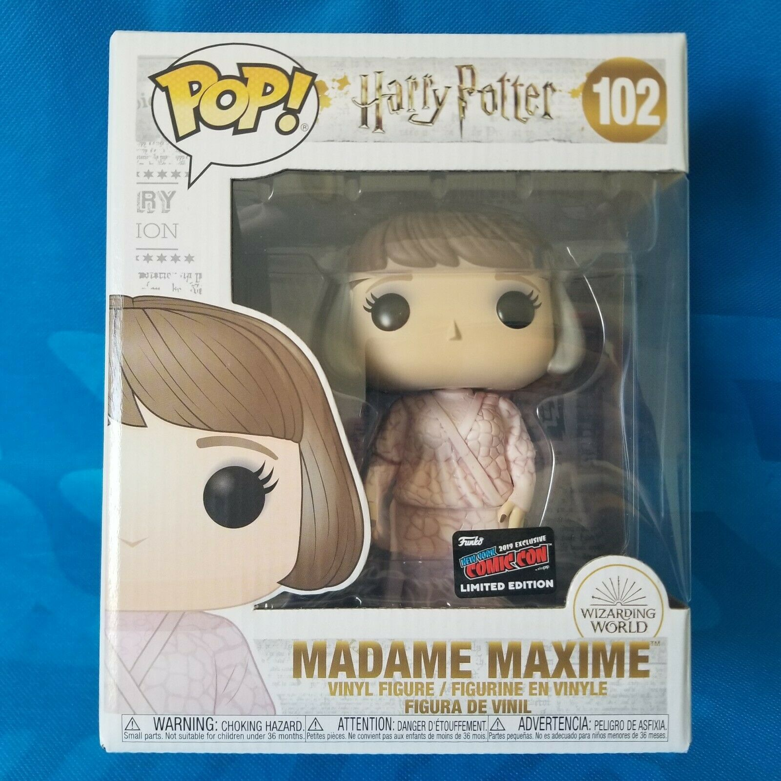 Funko POP Harry Potter Madame Maxine - #102: NYCC Exclusive